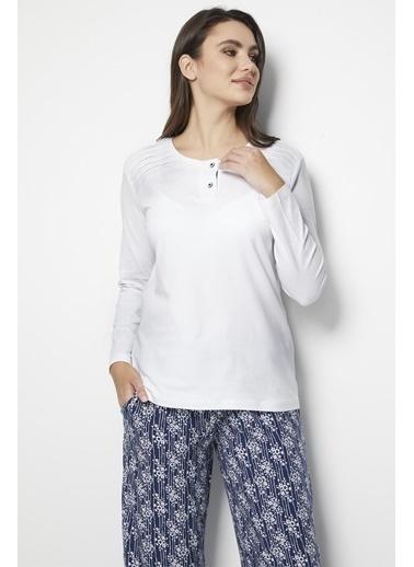 Doremi Pijama Takım Beyaz